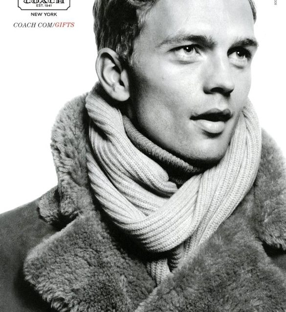 Ad Campaign | Coach Man Holiday 2012 Ft. Benjamin Eidem