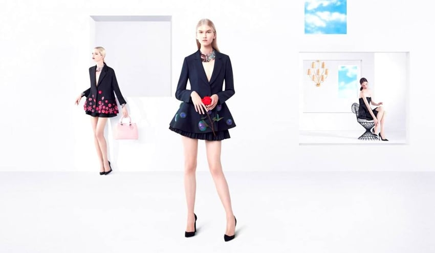 Ad Campaign   Christian Dior S/S 2013 by Willy Vanderperre
