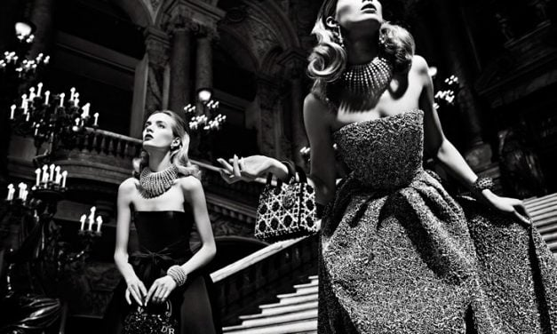 Ad Campaign | Christian Dior F/W 2013 at the Opéra Garnier in Paris by Willy Vanderperre