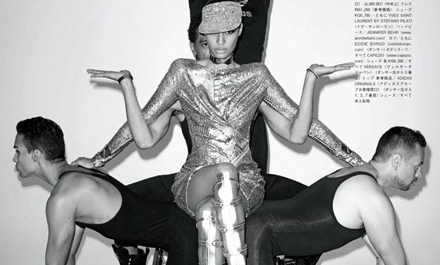 Editorial | 'How to Vogue For VOGUE' VOGUE Japan January 2013 ft. Joan Smalls