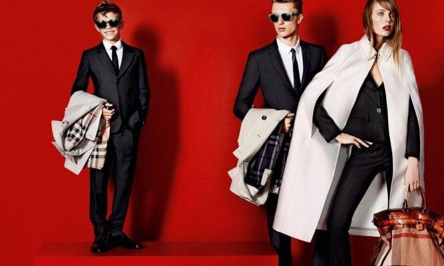 Ad Campaign | Burberry Prorsum S/S 2013 by Mario Testino