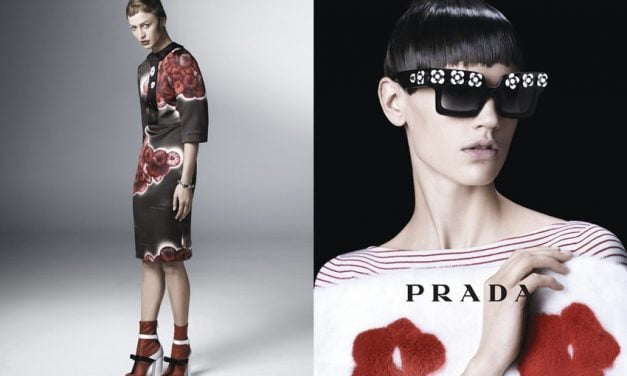 Ad Campaign | Prada Woman S/S 2013 by Steven Meisel