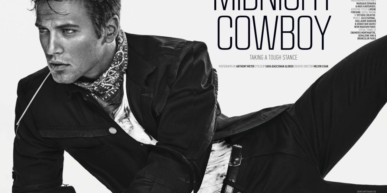 Editorial | 'Midnight Cowboy' AUGUST MAN #77 Malaysia by Anthony Meyer