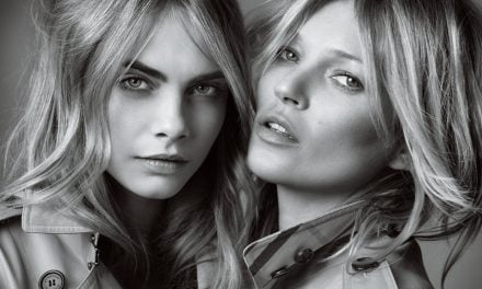 Ad Campaign | Burberry 'My Burberry' Fragrance ft. Kate Moss & Cara Delevinge by Mario Testino