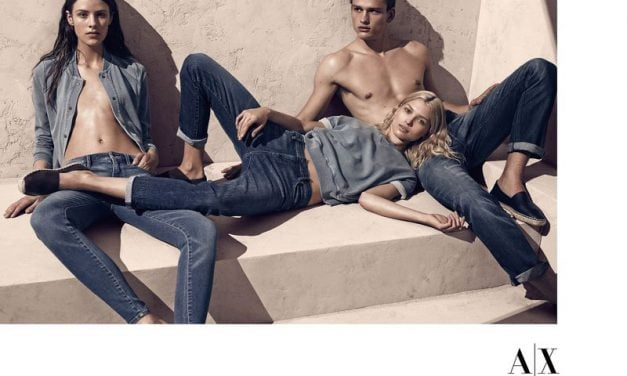 Ad Campaign | Armani Exchange S/S 2014 by Mikael Jansson