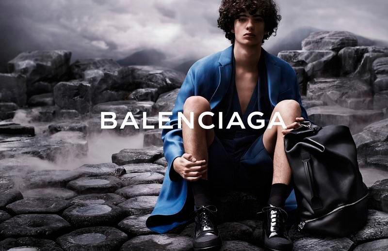 Ad Campaign | Balenciaga Men S/S 2015 ft. Piero Mendez by Josh Olins