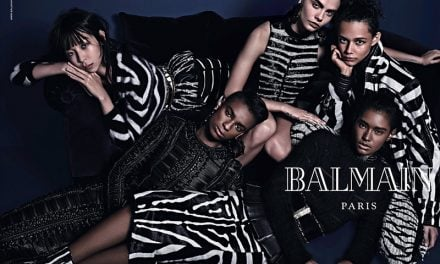 Ad Campaign | Balmain Fall 2014 by Mario Sorrenti
