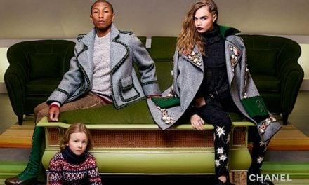 Ad Campaign | Chanel Métiers d'Art 2014/15 Paris-Salzberg ft. Cara Delevingne & Pharrell Williams