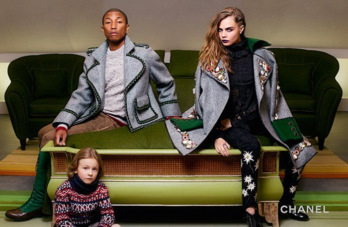 Ad Campaign | Chanel Métiers d'Art 2014/15 Paris-Salzberg ft. Cara Delevingne & Pharrell Williams