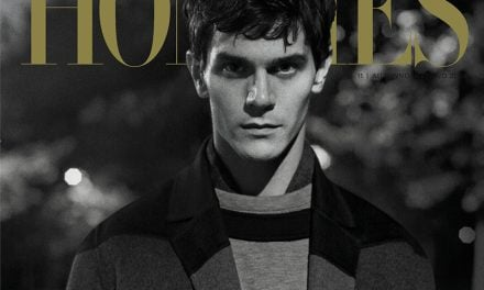 Cover | L'Officiel Hommes Italia F/W 2014 ft. Vincent Lacrocq, Mathias Lauridsen & Sam Claflin