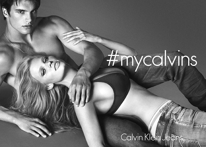 Ad Campaign | Calvin Klein Jeans Fall 2014 ft. Lara Stone & Matthew Terry by Mert & Marcus
