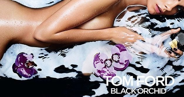 Ad Campaign | Tom Ford Black Orchid Fragrance ft. Cara Delevingne by Mario Sorrenti