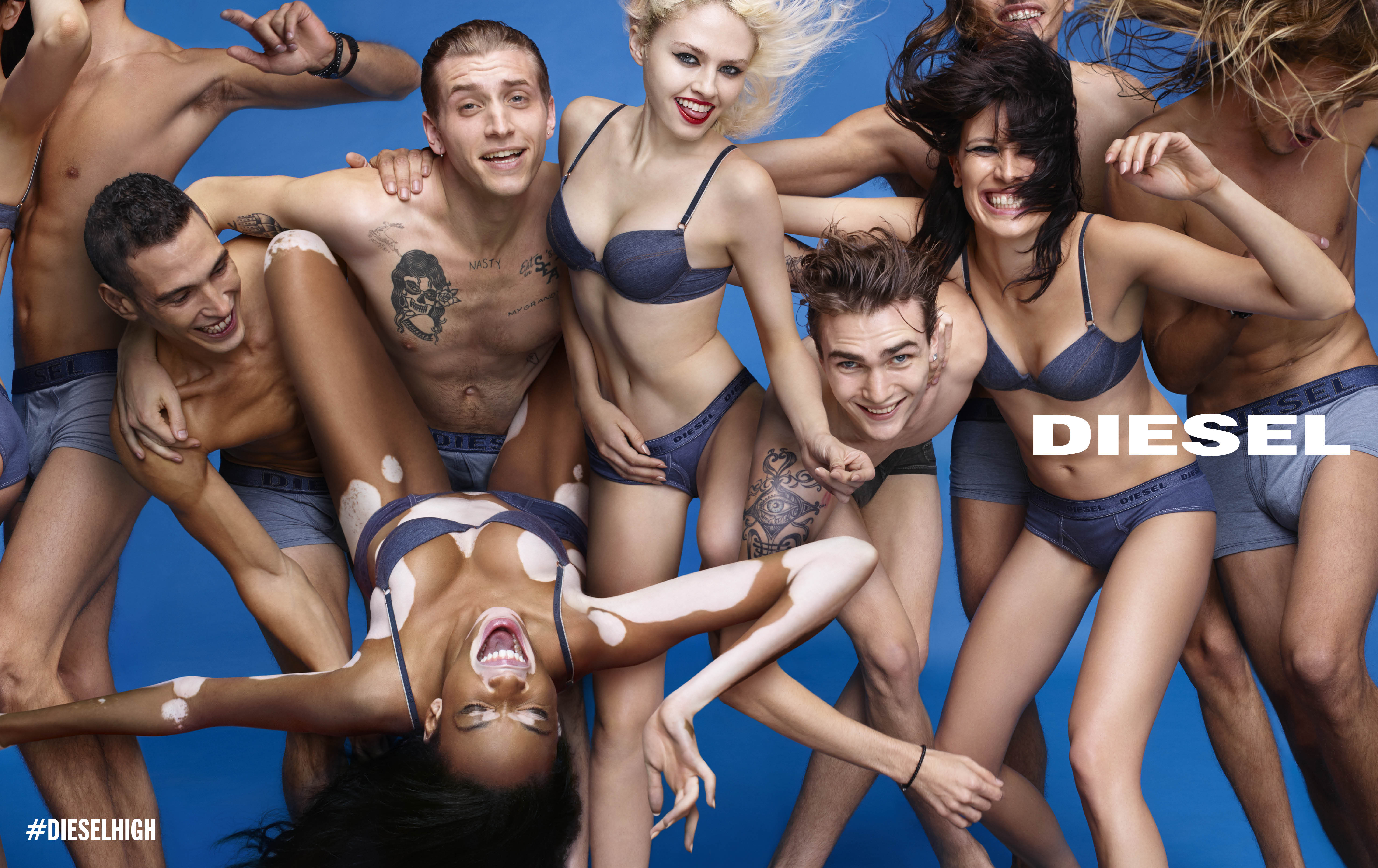 Ad Campaign | Diesel S/S 2015 #DIESELHIGH by Nick Knight