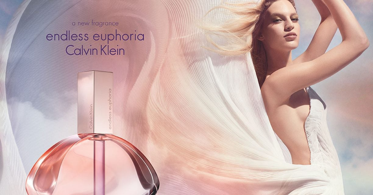 Ad Campaign | Calvin Klein 'Endless Euphoria' Fragrance ft. Vanessa Axente by Steven Meisel