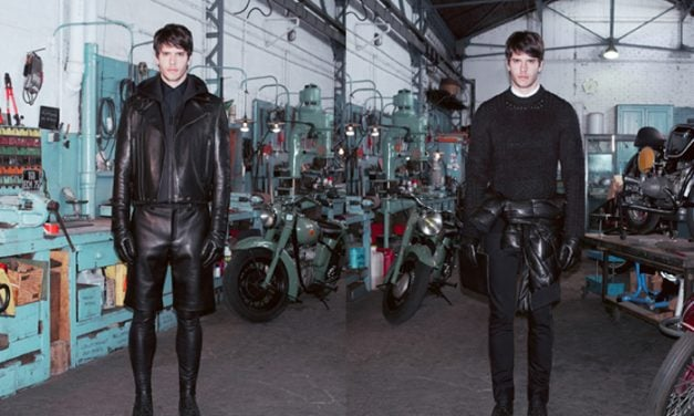 Look Book | Givenchy Pre Fall 2013 Menswear