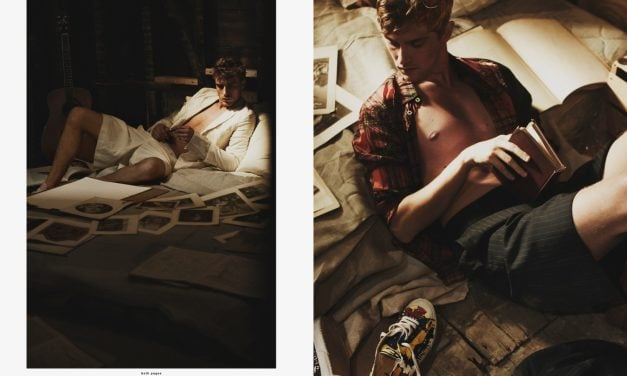 Editorial | 'Amazing' HERO Magazine 10 ft. Clément Chabernaud & Mathais Lauridsen by Guy Aroch