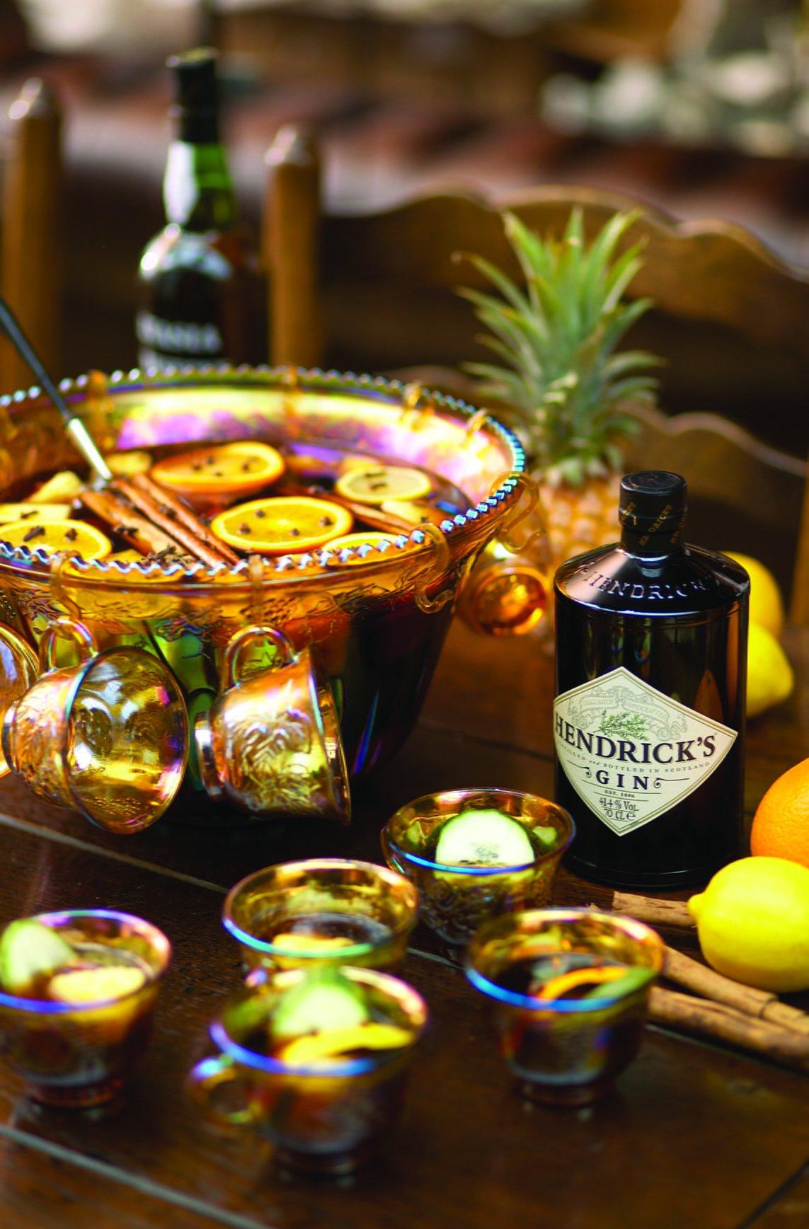 Hendrick's Hot Gin Punch
