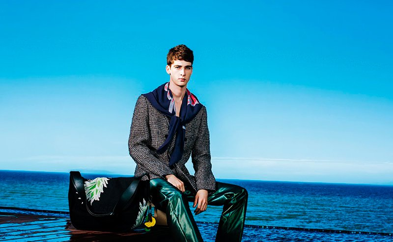 Ad Campaign | Issey Miyake Men S/S 2015 ft. Corentin Renault