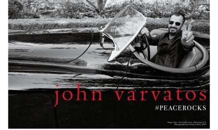 Ad Campaign | John Varvatos Fall 2014 ft. Ringo Starr by Danny Clinch #PEACEROCKS