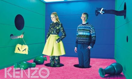 Ad Campaign | KENZO Paris Fall 2014 ft. Guinevere van Seenus & Robert Mckinnon