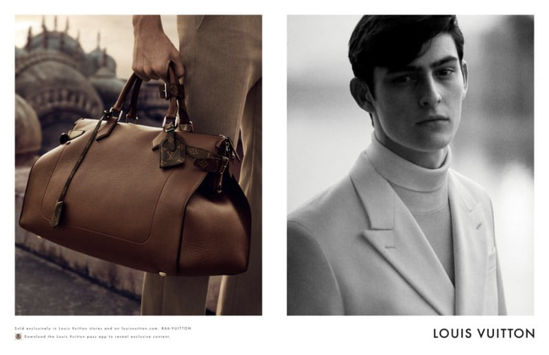 Ad Campaign | Louis Vuitton Man S/S 2015 ft. Rhys Pickering by Peter Lindbergh