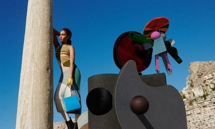 Ad Campaign | Missoni Fall 2014 ft. Joan Smalls & Justin Barnhill by Viviane Sassen