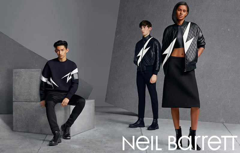 Ad Campaign | Neil Barrett Fall 2014 by Matthew Stone