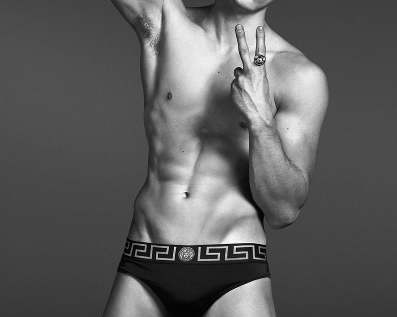 Ad Campaign | Versace Man S/S 2014 ft. Nolan Funk by Mert & Marcus
