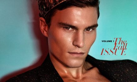 Editorial | 'Oliver Cheshire' D'SCENE Magazine #1 by Neil O'Keeffe