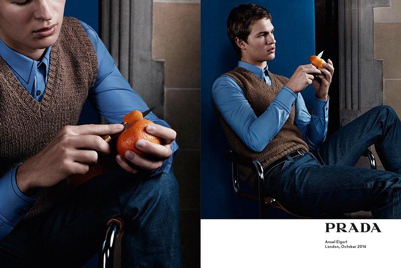 Ad Campaign | Prada Man S/S 2015 by Craig McDean