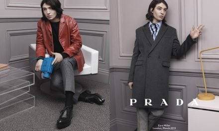 Ad Campaign | Prada Man F/W 2013 ft. Christoph Waltz, Ben Whishaw & Ezra Miller by David Sims