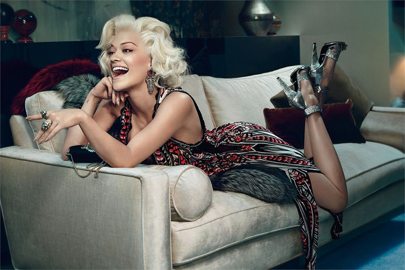 Ad Campaign | Roberto Cavalli Fall 2014 ft. Rita Ora by Francesco Carrozzini