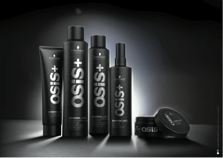 Beauty | Schwarzkopf Professional Osis+ Session Label