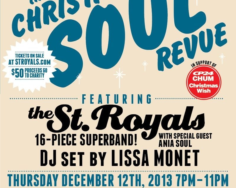 Event | The Christmas Soul Revue ft. The St. Royals, Ania Soul & DJ Lissa Monet