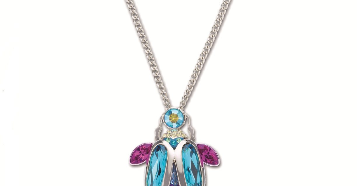 Contest | Enter to win a Swarovski Translucent Beetle Pendant