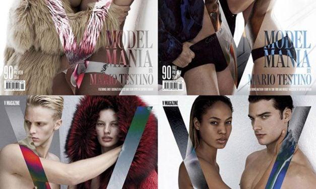 Cover | V Magazine #90 'MODEL MANIA' by Mario Testino