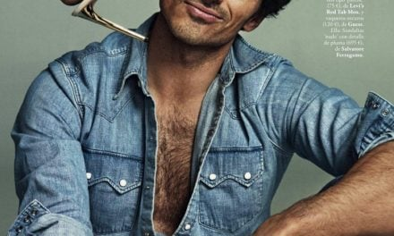 Editorial | 'El Complemento Perfecto' ELLE España April 2015 ft. Andrés Velencoso by Xavi Gordo