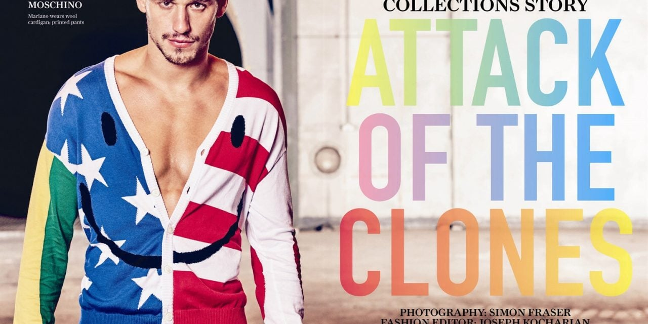 Editorial | 'Attack of the Clones' Attitude Magazine April 2015 by Simon Fraser