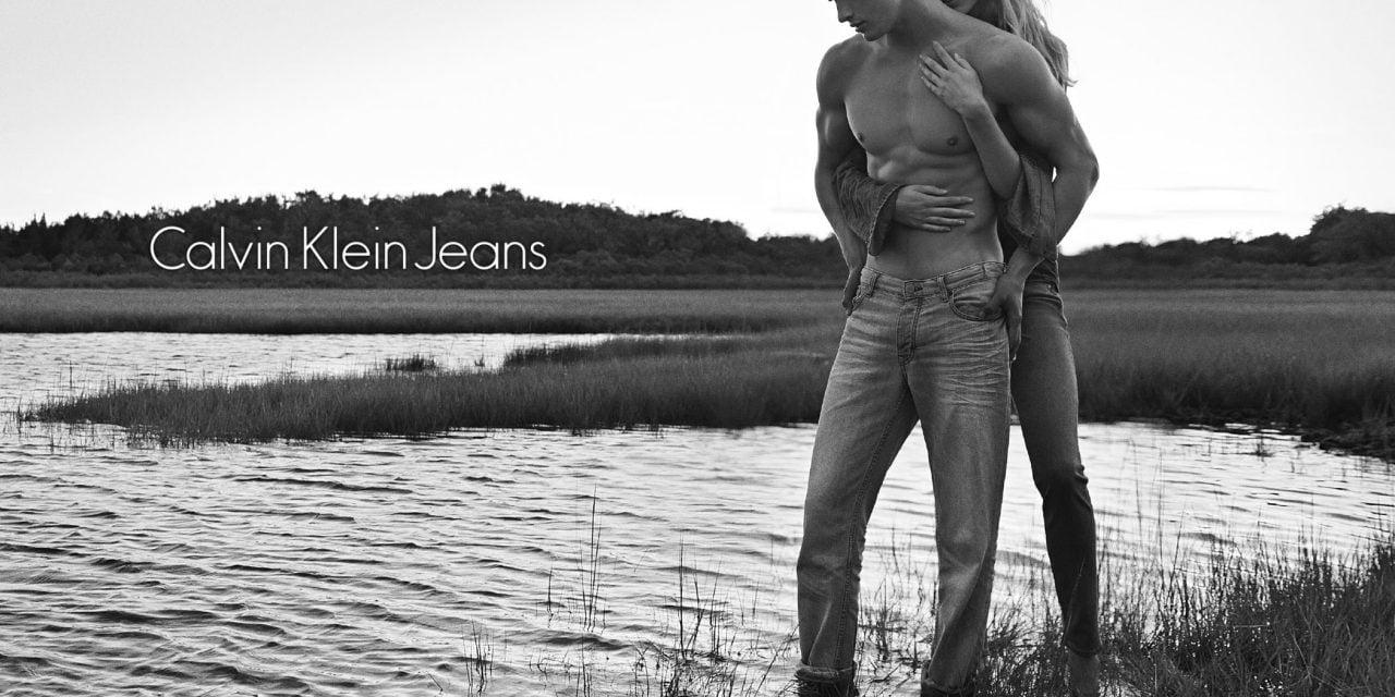 Ad Campaign   Calvin Klein Jeans S/S 2014 ft. Matthew Terry & Vanessa Axente