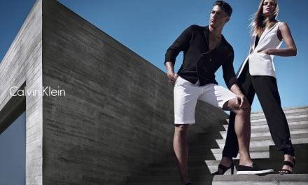 Ad Campaign | Calvin Klein White Label S/S 2014 ft. Tyson Ballou & Edita Vilkeviciute by Mario Sorrenti