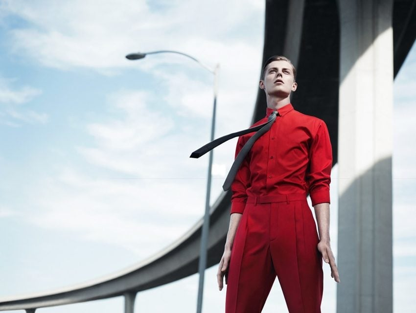"Ad Campaign | Dior Homme ""Underpass"" S/S 2013 ft. Ben Allen & Janis Ancens"