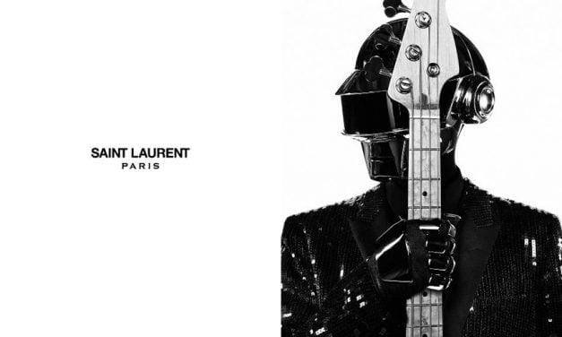 Ad Campaign | Saint Laurent Music Project S/S 2013 ft. Daft Punk by Hedi Slimane