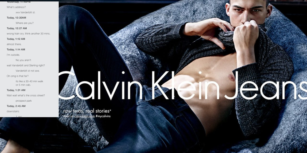 Ad Campaign | Calvin Klein Jeans F/W 2015 by Mario ...