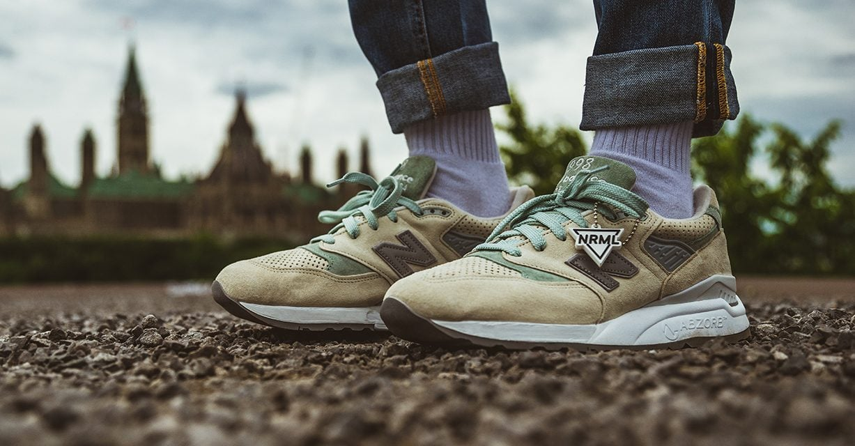 Fashion | NRML x New Balance 998 Parliamentary Runner