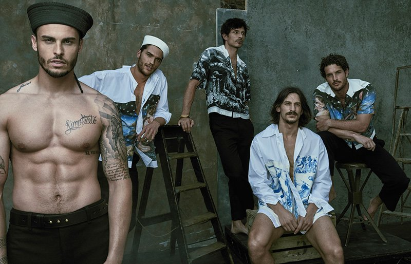 "Editorial | ""Five of a Kind"" GQ Australia September 2016 by Mariano Vivanco"
