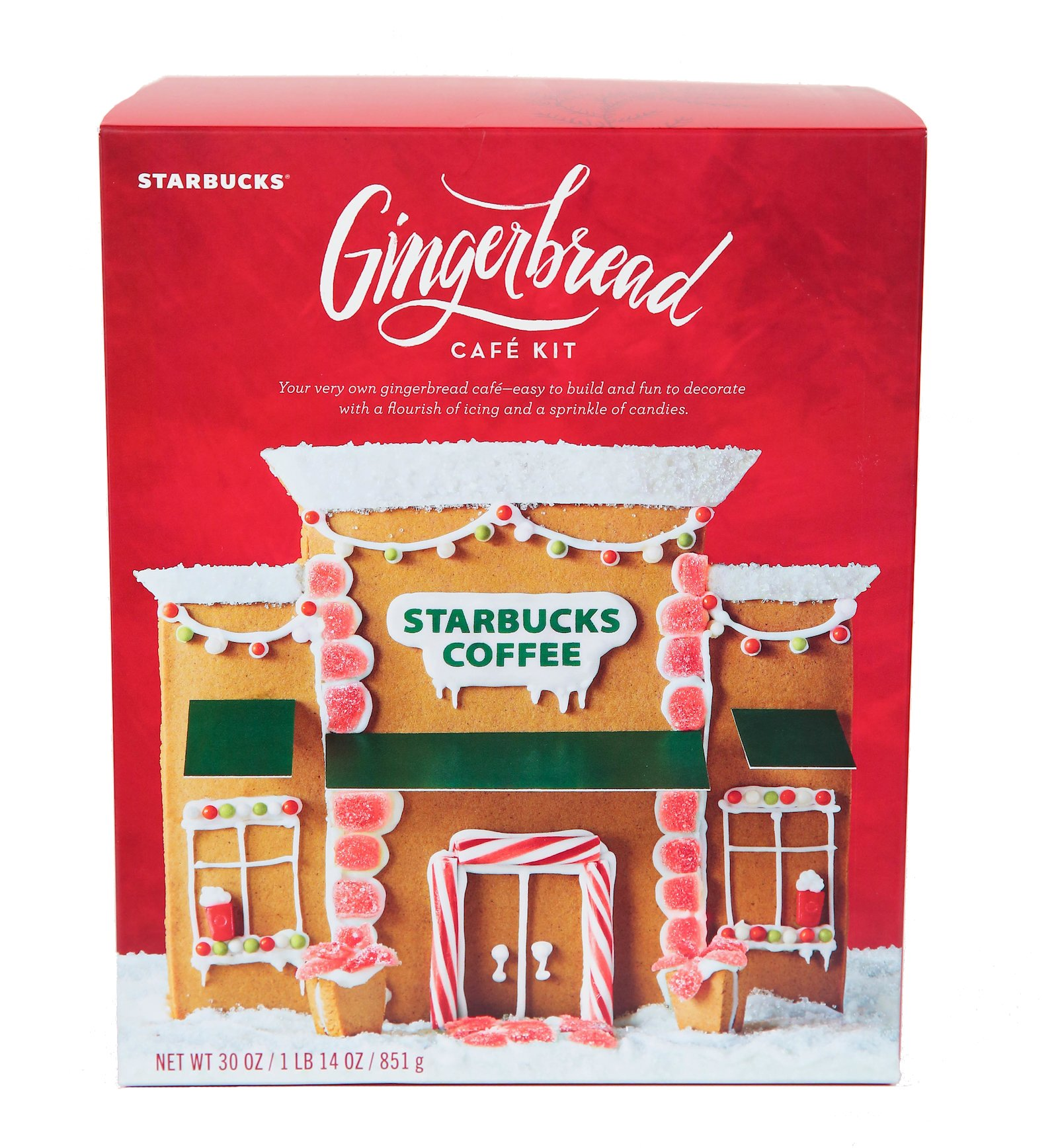 Holiday Starbucks merchandise