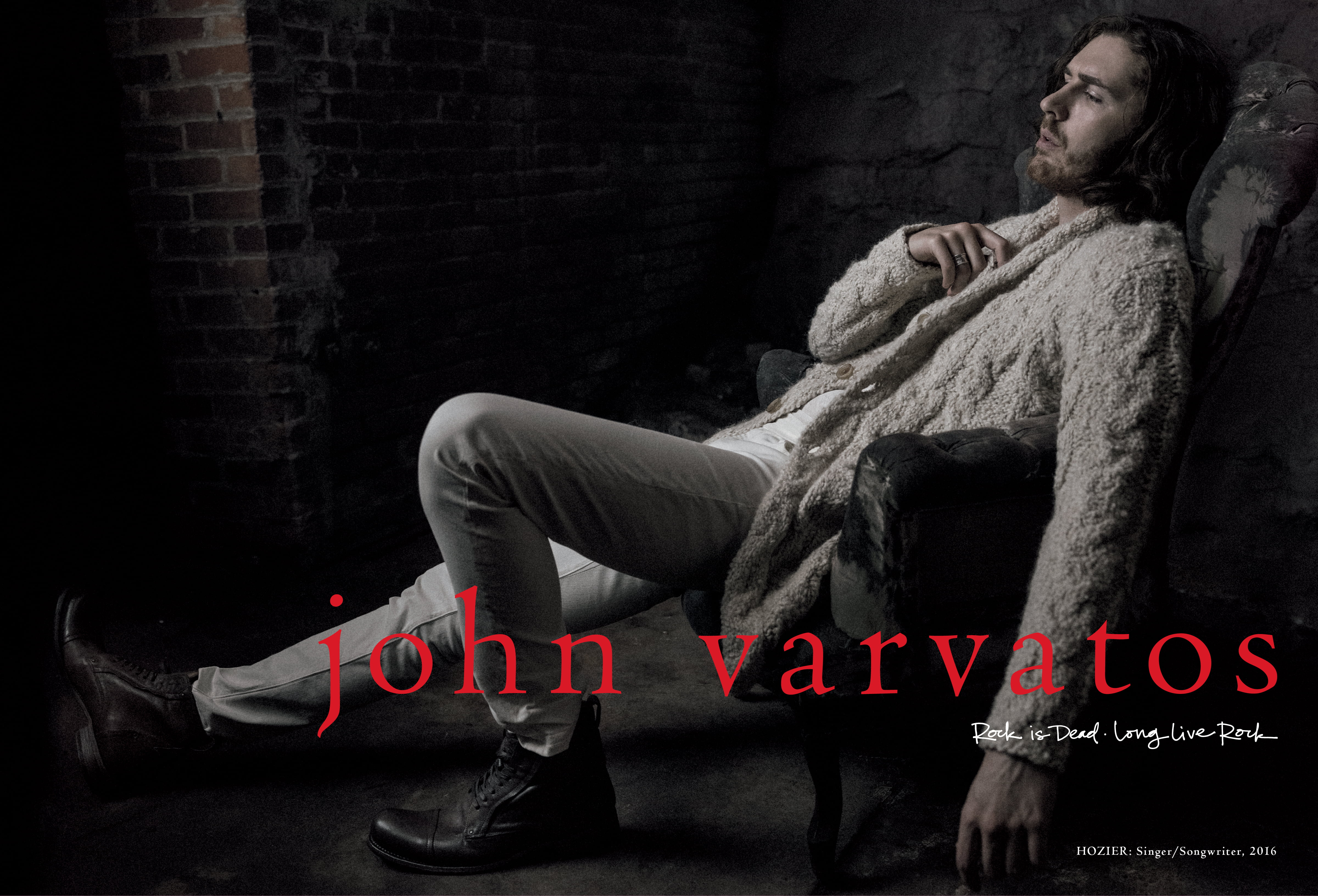 JV FW16 Hozier Spread White Sweater - All Tagging (1)