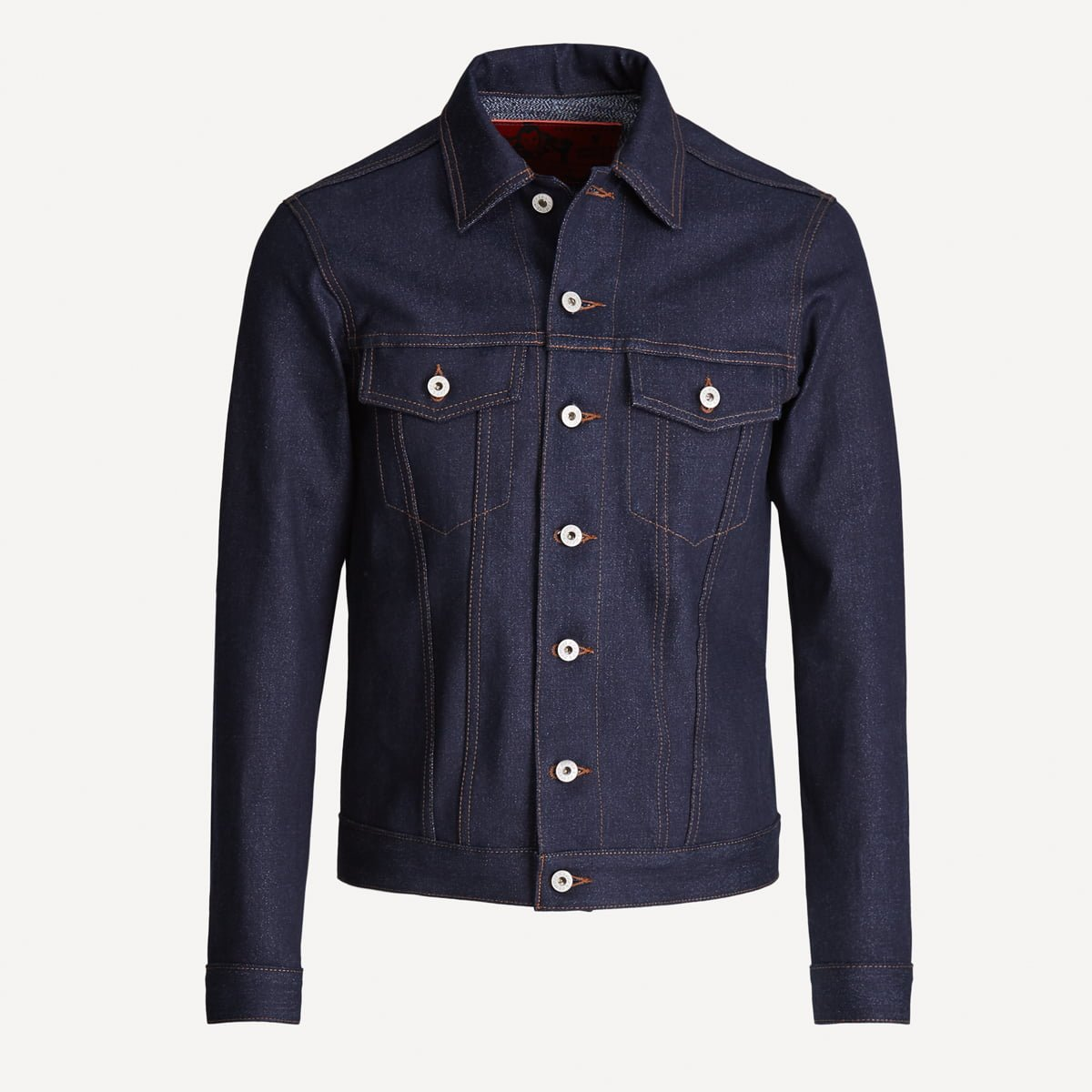 Naked & Famous x Frank & Oak Selvedge Denim Jacket in Indigo