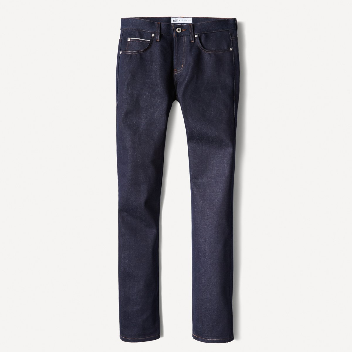 Naked & Famous x Frank & Oak Tapered Selvedge Denim in Indigo