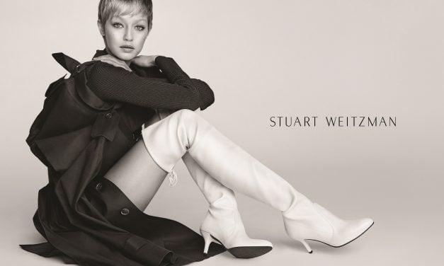 Ad Campaign | Stuart Weitzman F/W 2017 ft. Gigi Hadid by Mario Testino